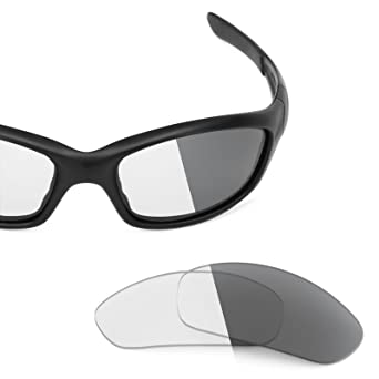 a5d4465f9b3 Revant Replacement Lenses for Oakley Straight Jacket (2007) Elite Adapt  Grey Photochromic  Amazon.co.uk  Clothing
