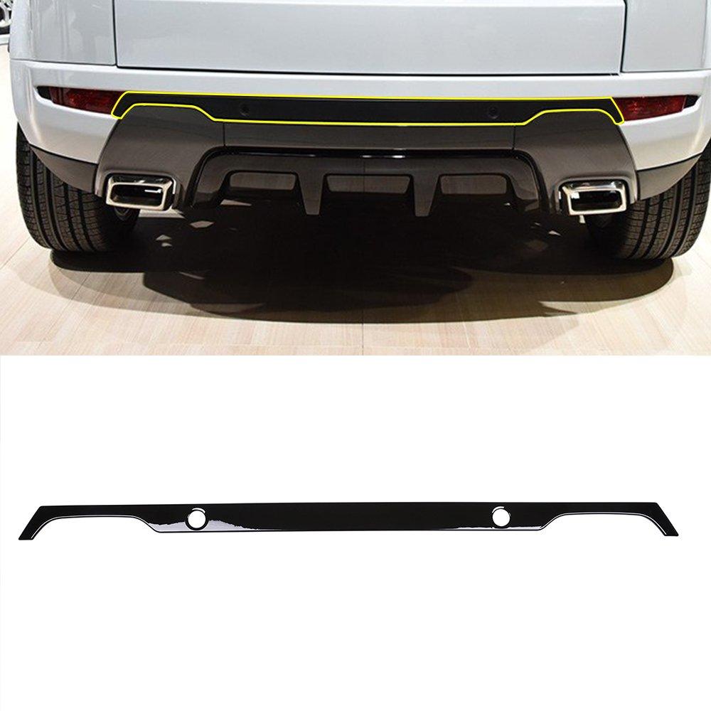 auto nero ABS di cofano posteriore telaio Trim METYOUCAR