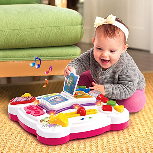 LeapFrog Learn and Groove Musical Table (Frustration Free Packaging), Pink