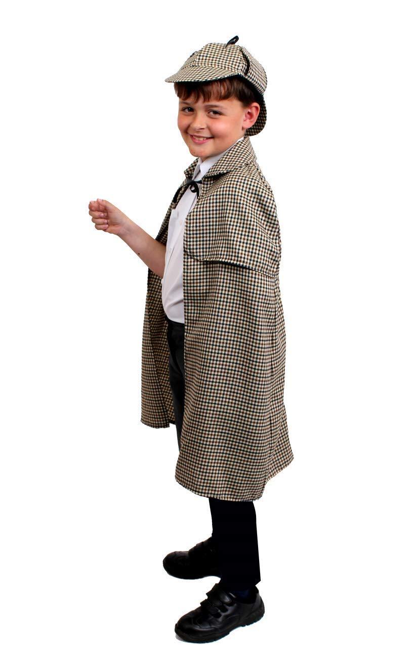 ILOVEFANCYDRESS Conjunto DE Disfraces Sherlock Holmes con Sombrero ...
