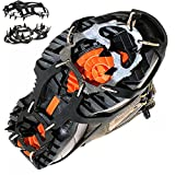 Pogah Traction Cleat, Anti-slip Ice Cleat Shoe Boot Tread Grips Traction Crampon Spike