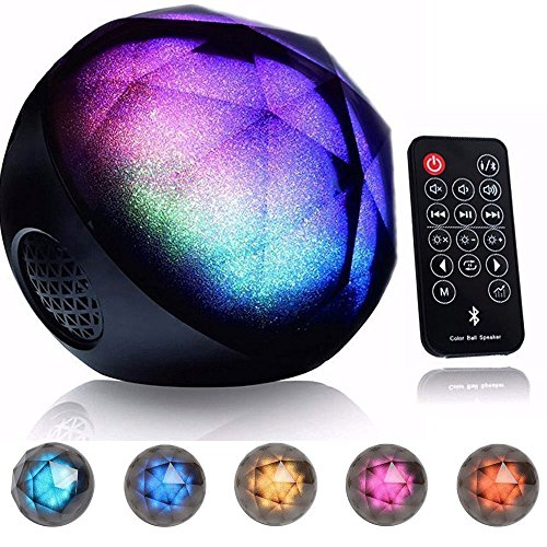 Drillpro Led Color Changing Bluetooth Speaker Portable
