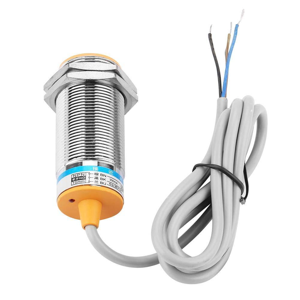 Capteur de proximit/é photo/électrique distance de 10cm NPN NO Interrupteur de capteur de proximit/é /à r/éflexion diffuse normalement ouvert E3F-DS10P1 Capteur de proximit/é DC6-36V