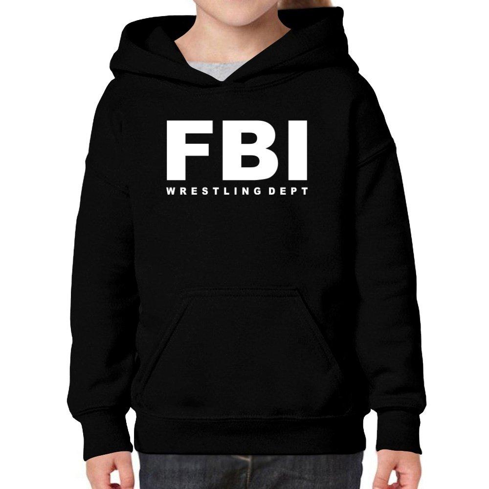 Teeburon FBI Dept Wrestling Girl Hoodie
