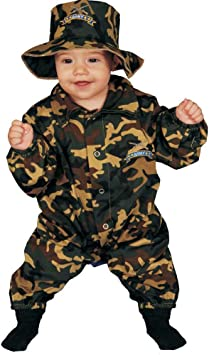 Dress Up America Disfraz de Oficial Militar bebé Lindo: Amazon.es ...