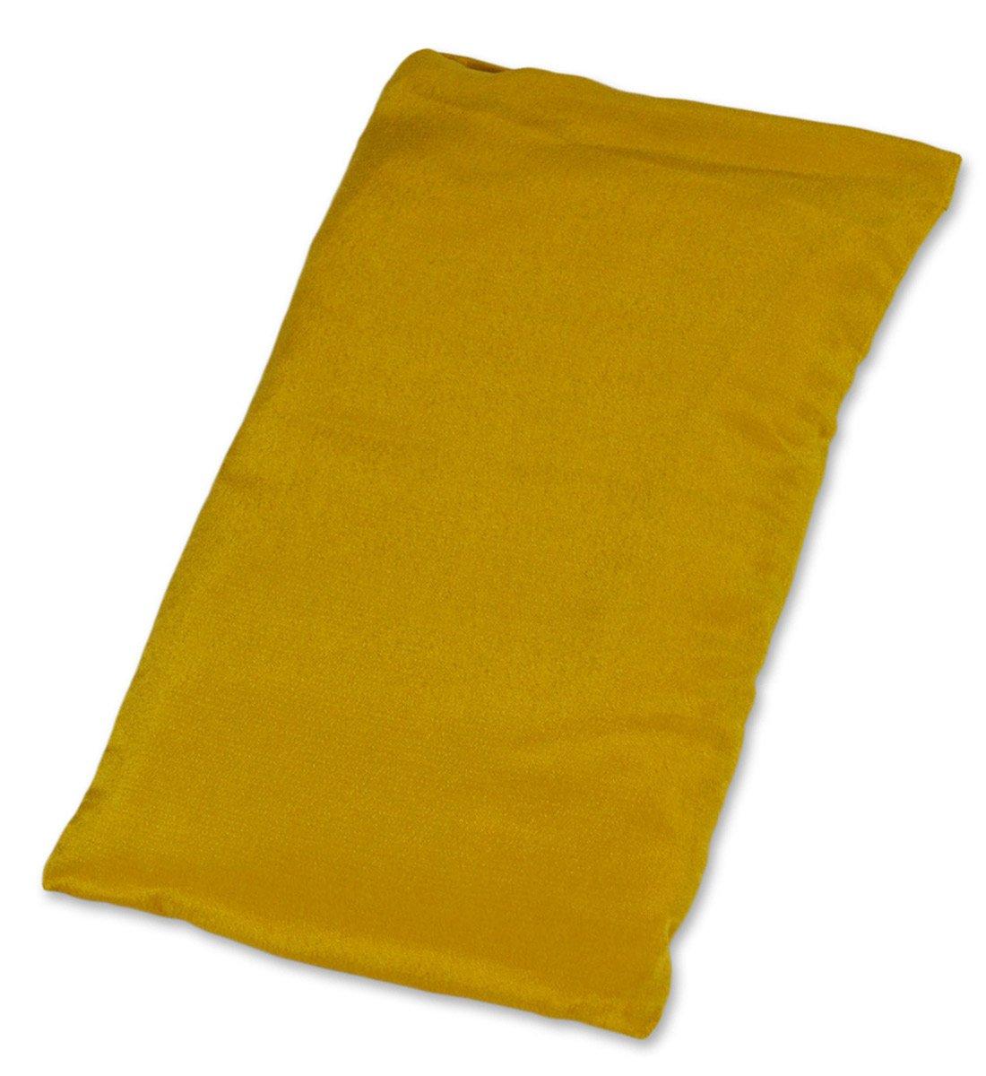 YogaAccessories (TM Large Silk Eye Pillow (Lavender) (Twilight Blue)