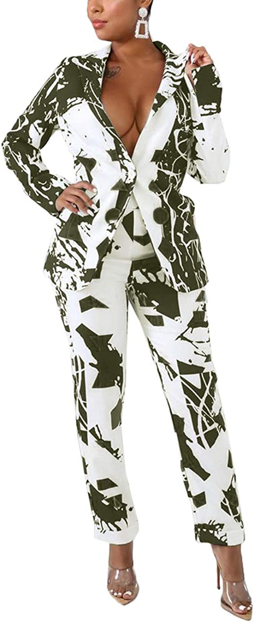 Amazon.com: 2 piezas de trajes para mujer de manga larga de ...