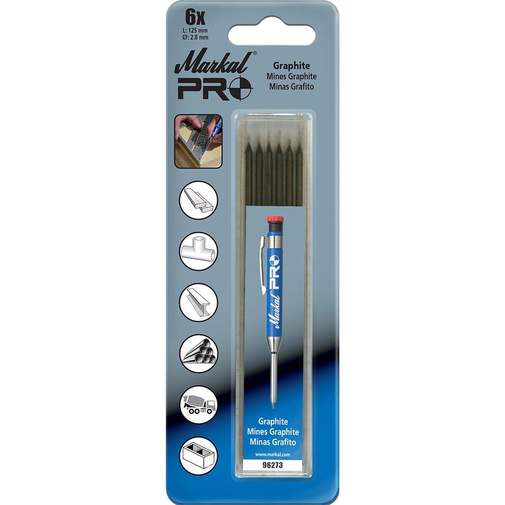 Silver 6 Pack Markal 96271 Silver Streak Pro Refills