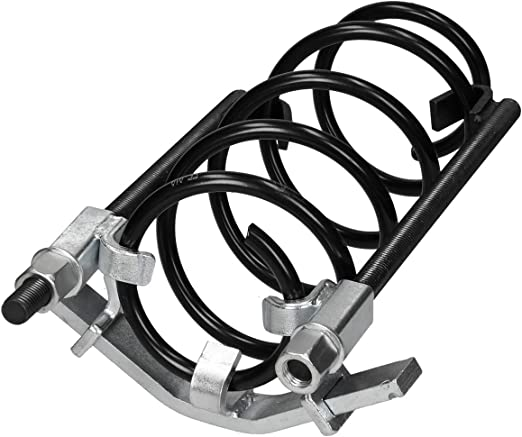 Ecd Germany Federspanner 3 Tlg Bis 1500kg 1 5t Belastbar 280mm Spannweg Für Spiralfedern Universal Werkzeug Federstecker Montagespanner Federn Spannen Kfz Auto