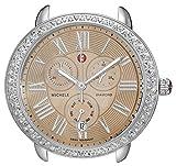 MICHELE Women's MW21A01A1069 Serein Analog Display Swiss Quartz Silver-Tone Watch Head