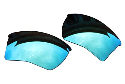 c4b79d5eebf Image Unavailable. Image not available for. Color  BVANQ Polarized Lenses  Replacement Blue Mirror Coatings for Oakley Quarter Jacket Sunglasses