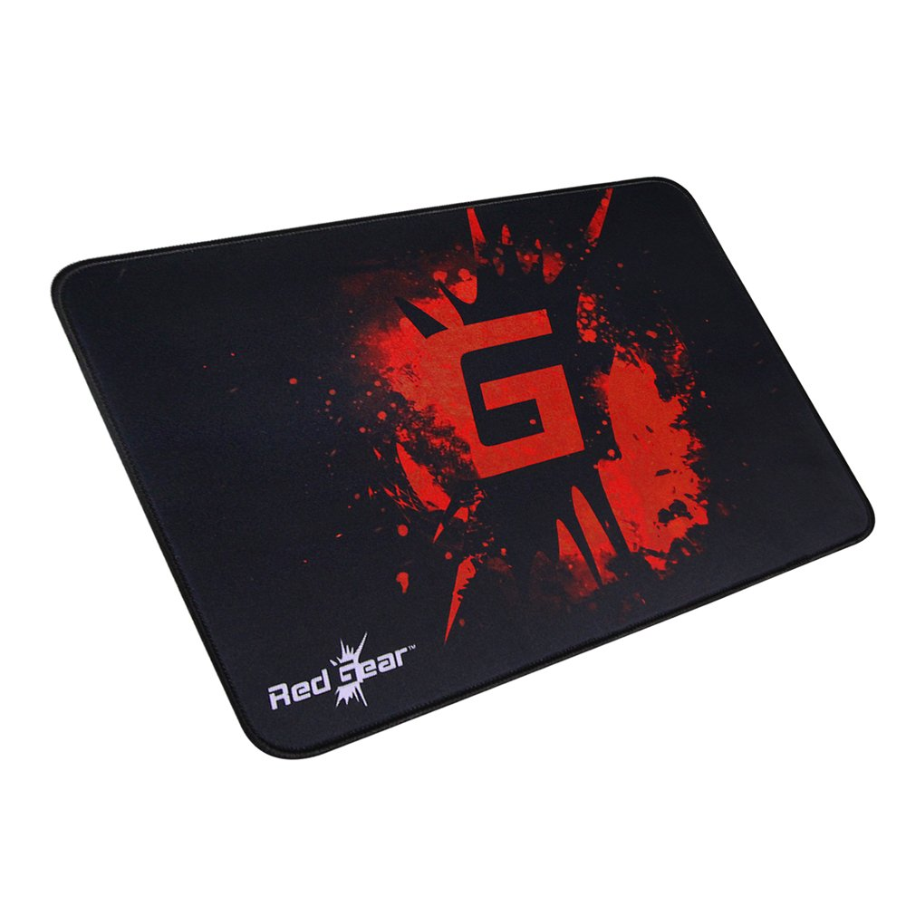 Redgear MP35 Control-Type Gaming Mousepad (Black/Red) product image