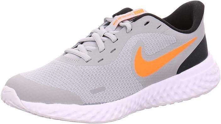 Amazon Com Nike Revolution 5 Gs Big Kids Casual Running Shoes Bq5671 007 Running
