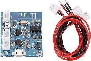 Mini Audio Amplifier Board Bluetooth Module 4.2 Circuit Stereo Digital Power Amplifier Audio Receiver Board 5W+5W Dual Channel for Speakers