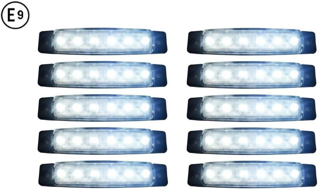 A1 10 X Led 12v Begrenzungsleuchte Positionsleuchte Seitenmarkierungsleuchte Lkw Auto