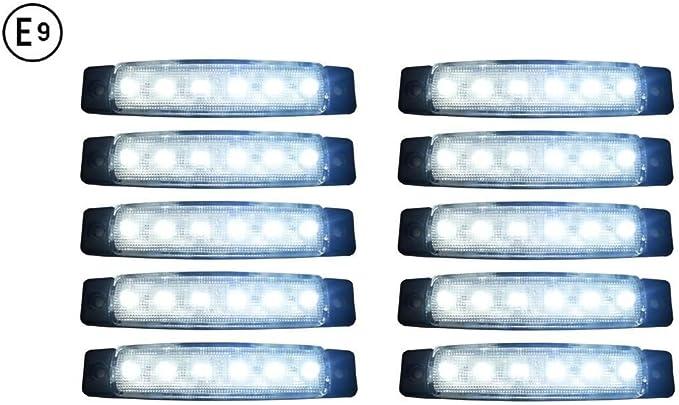 A1 10 X Led 24v Begrenzungsleuchte Positionsleuchte Seitenmarkierungsleuchte Lkw Auto