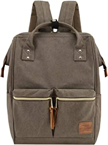 Himawari Large Travel Backpack School Bag with Laptop Compartment 17 inch Doctor Teacher Backpack for Women Men College Student