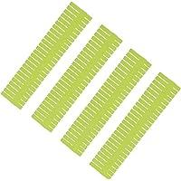 SYGA 5 pcs DIY Plastic Grid Drawer Divider Household Storage Strips