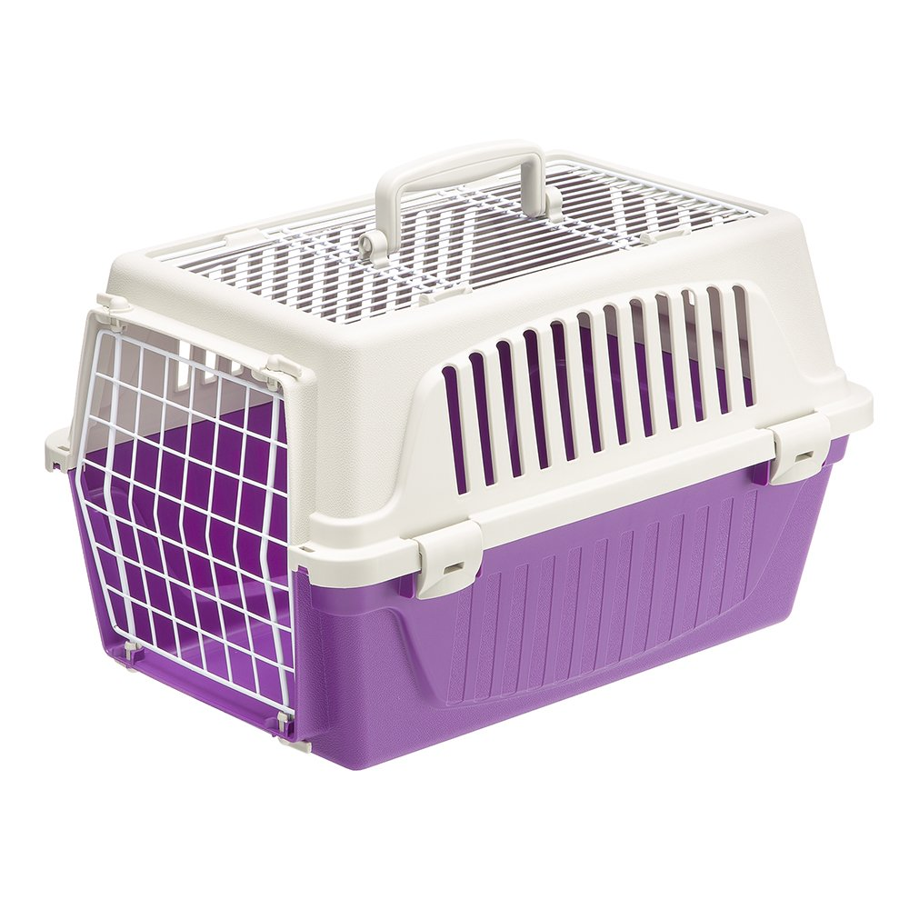 amazoncom  ferplast atlas  top opening cat and dog carrier  - amazoncom  ferplast atlas  top opening cat and dog carrier blue  petsupplies