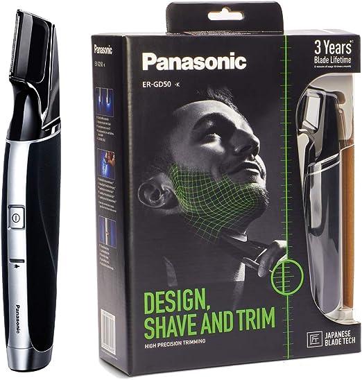 Panasonic ER-GD50-K811 Recargable para hombres i-SHAPER 3-en-1 ...