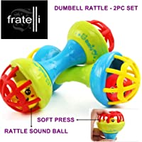FRATELLI Dumbbell Rattle [ 2pc Set ]