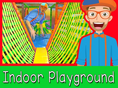 (The Indoor Playground with Blippi - Learn Colors and)