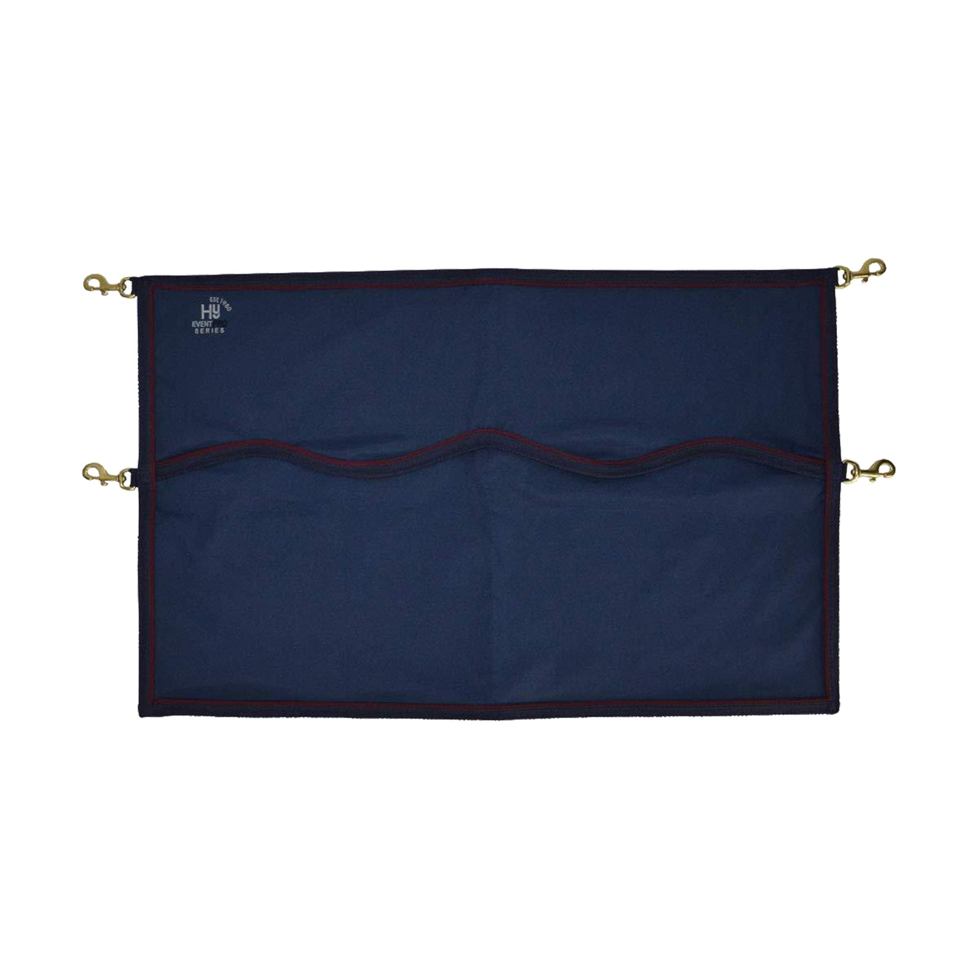 Hy Event Pro Series Stable Guard (23.5 x 37.5in) (Navy/Burgundy) by Hy