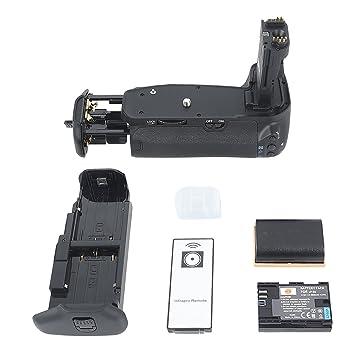 Dste - Empuñadura de batería para cámara réflex digital Canon EOS ...