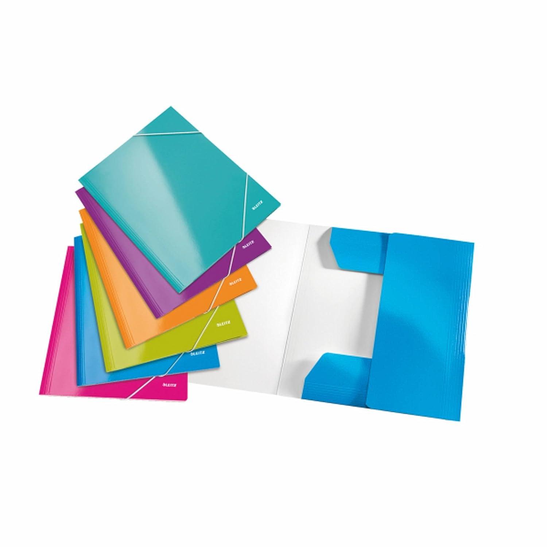 Leitz WOW Serie (Farbe  sortiert, Klemmbrettmappe       DIN A4   6 Stück) B06VTJM8V4 | Verschiedene Arten Und Die Styles  0d42db