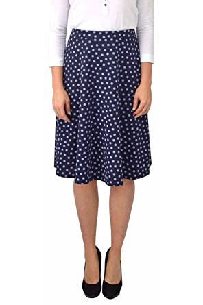 Whitelabel ex Chainstore Blue Polka Dot Skirt 18: Amazon.es: Ropa ...