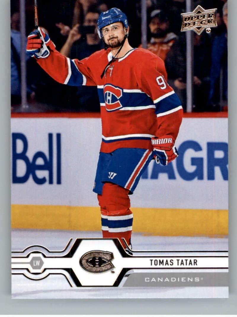 Amazon Com 2019 20 Upper Deck Hockey Series 1 47 Tomas Tatar Montreal Canadiens Official Ud Nhl Trading Card Collectibles Fine Art