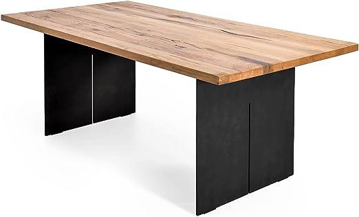 MÖBEL IDEAL Esstisch Eiche Massiv 200 x 100 cm Tisch