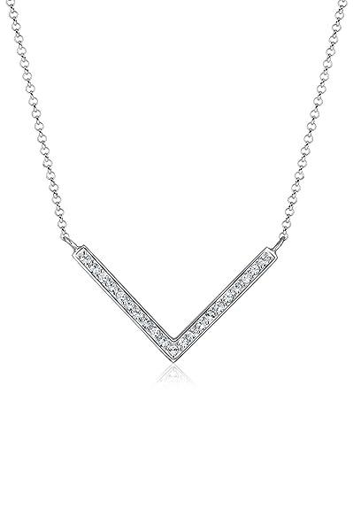 Parure Cristal -0912770414_45-45cm Argent 925 Elli