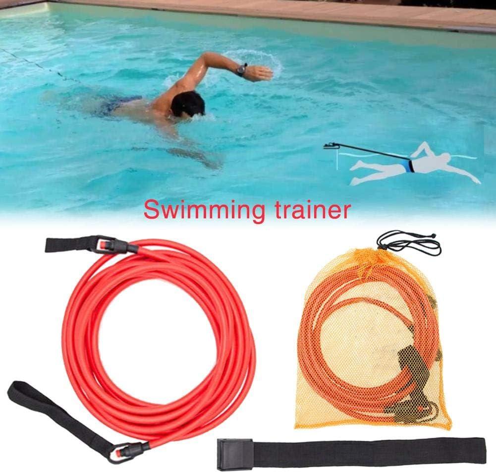 Cintur/ón el/ástico para Entrenamiento de nataci/ón Profesional Silicona iB/àste
