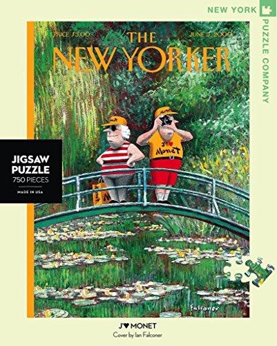 New York Puzzle Company - New Yorker Jaime Monet - 750 Piece Jigsaw Puzzle