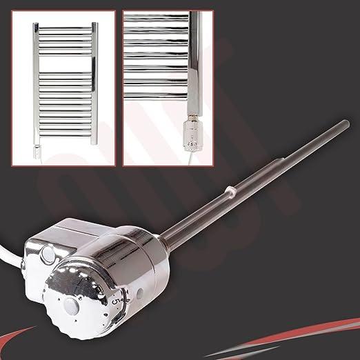 300 W Rica Atlantis Chrom Thermostat Elektrische Heizung Element