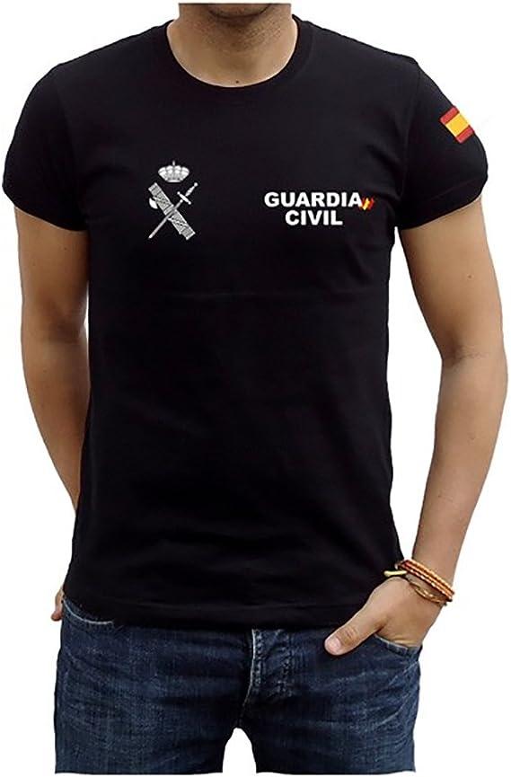 Camiseta Guardia Civil Bandera: Amazon.es: Ropa y accesorios