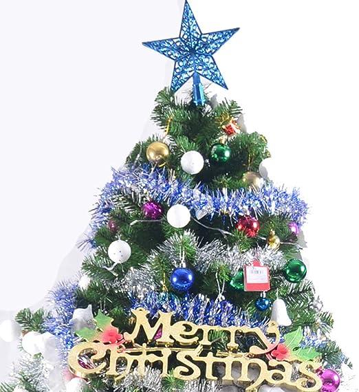 DLPY Pre-Decoradas Árbol De Navidad Artificial, Luces LED Y ...