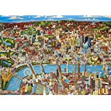 Gibsons G830 London Looking North, 1000 Piece Jigsaw Puzzle