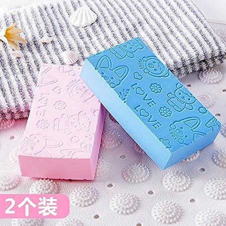 XIAMUO-Las Necesidades diarias de Baby Shower bebé Toallas Scrubs Scrubs Cartoon Esponja Toalla Hijos Adultos Pick NAI esponjas Akasuri borrar, ...