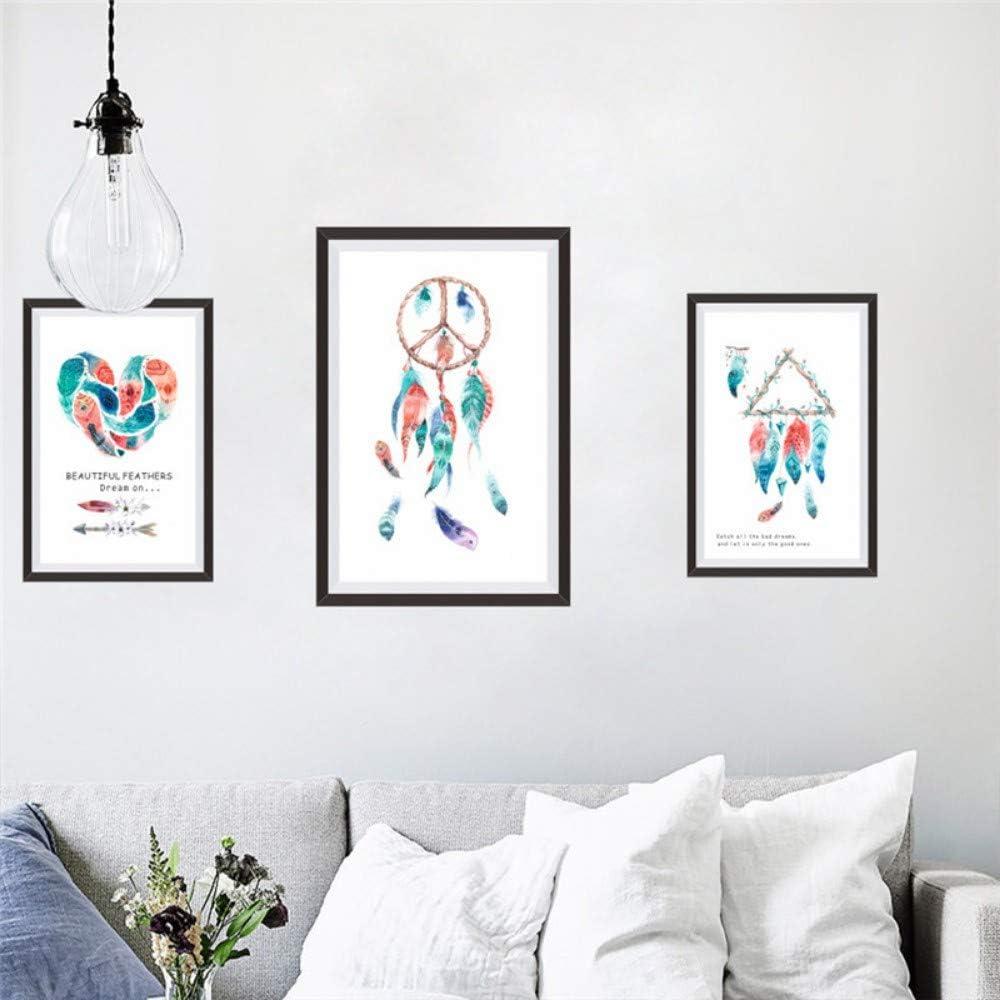Chats chiens autocollants muraux Cartoon animaux Autocollants Living Chambre à coucher de décorations