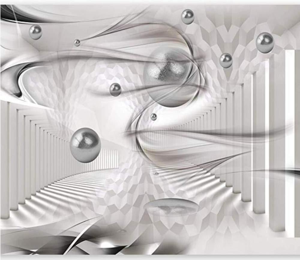 Benutzerdefinierte Tapete 3D Feste Wandbild Wohnzimmer Schlafzimmer Tapete Vlies- Wandbild Dekoration Poster Bild Design Moderner Surrealistischer Surrealismus, 250Cmx175Cm