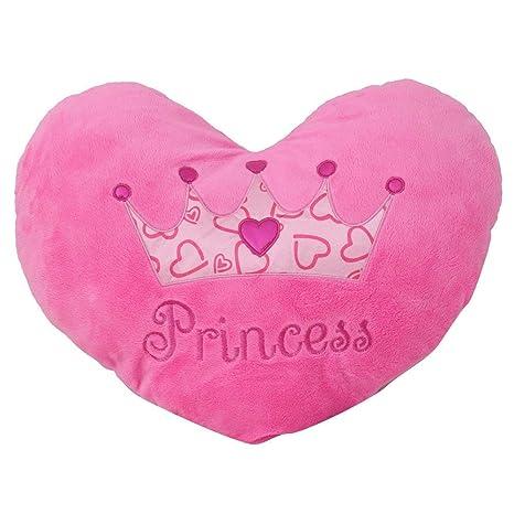 Amazon.com: Princesa de corazón almohada 15