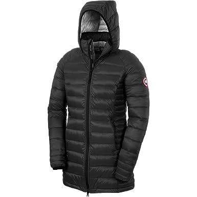 Canada Goose Brookvale Chaqueta con capucha para mujer, mujer, negro/gris: Amazon.es: Deportes y aire libre