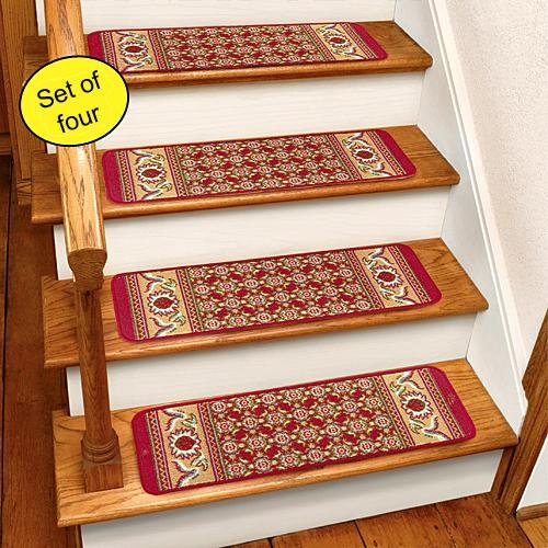 Burgundy Carpet Stair Treads CST260R product image