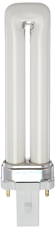 Bulbrite CF7S827 7W Twin 2 PIN 827K Compact Fluorescent Light Bulb Warm White