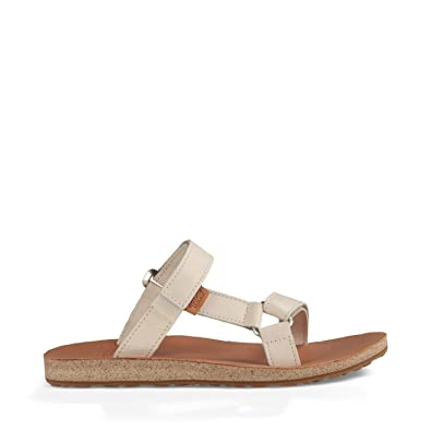 43f103922f3e4 Teva W Universal Slide Leather Birch Sandals  Amazon.co.uk  Shoes   Bags