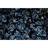 Fantasia Materials: 1 lb Indigo Gabbro/Mystic Merlinite Rough - (Select 1 to 18 lbs) - Raw Natural Crystals for Cabbing, Cutting, Lapidary, Tumbling, Polishing, Wire Wrapping, Wicca & Reiki Healing