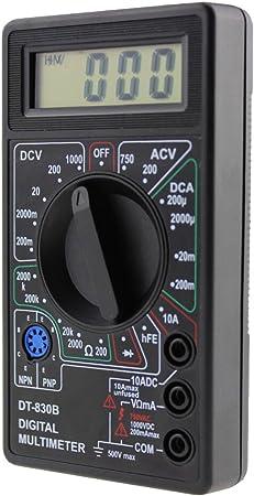 Dt 830b Mini Type Multi Functional Handheld Digital Multimeter Yellow Küche Haushalt