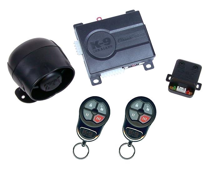 Amazon.com: K9 coche vehículo sistema de seguridad de alarma ...